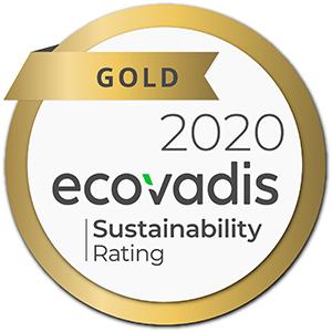 July 19, 2020 Santanol receives ecovadis gold medal